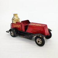"""Marx Siren Sparkling Fire Engine, produced c. 1930. The maker's mark stamped on the bottom reads: """"PATENTED MARCH 15th, 1927 -- NO. 1, 621, 266"""""""