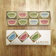 """La Petite"" matchbooks, made in Sweden c. 1950-60."