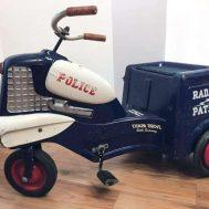 Murray Police Radar Patrol pedal car, c. 1958.