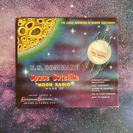 Box for U.S. Command Space Satellite Moon Radio