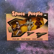 Space People, plastic, manufactured by Archer ca. 1950s. ID#B10.1