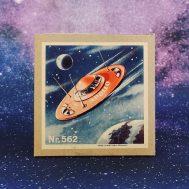Box for Apollo Space Ship