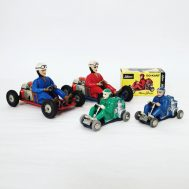 Schuco Micro Racer Go-Kart. Made in. Western Germany, c. 1962. ID#2204/2586/2608/1758