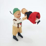Bavarian Dancing Couple. Made in Germany, c. 1935.