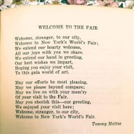 """""""Welcome to the Fair"""" by Tommy Mattes, page 271."""