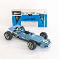 Matra Ford Formula 1 windup Racecar. Made in Germany c. 1990. ID#285