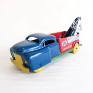 """Wyandotte Wrecker Truck. Made in the USA, late 1940s to early 1950s. 9.5"""" long. ID#2018.11.7"""