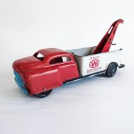 """Wyandotte Service Truck. Made in the USA, late 1940s to early 1950s. 9.5"""" long. ID#2018.11.8"""