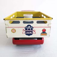 """Marx Home Dairy Truck. Made in the USA, c. 1950. 9.8"""" long. ID#956"""