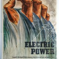 Electrical Power WWII Poster