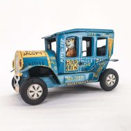 """Old Jalopy Windup Car. Manufactured by Marx. Made in USA, c. 1940. 3"""" tall.  ID#79"""