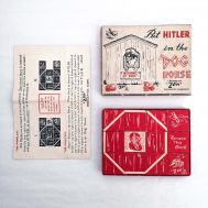 Hitler Dog House Puzzle. Manufactured by Zen, made in the USA, c. 1942. ID#3929