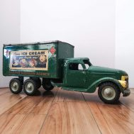 """Buddy L Delivery Truck. Made in the USA, c. 1950. 18""""long"""