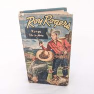 """Roy Rogers Range Detective Book.  Published by Whitman Publishing Co. Printed in USA, c. 1950. 5.5"""" tall. ID#3326"""