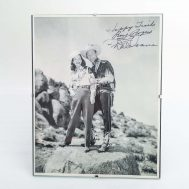 """Roy Rogers and Dale Evans Signed Photograph. 8x10""""."""