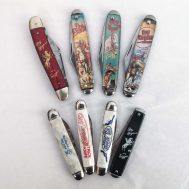 """Assorted Roy Rogers Pocket Knives. Various manufacturers. 3"""" long."""