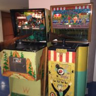 Stockade, by Williams Electronics Inc., c.1972 & Carnival Gun (not a Pinball), by Chicago Coin Machine Mfg. Company, c. 1957.