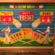King of Swat.  Manufactured by Williams Mfg. Company, c. 1955.