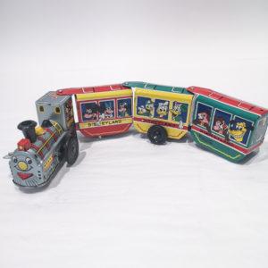Tin Litho Disney Express Windup Trian by Marx c. 1960