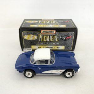 Matchbox Premiere Collection Diecast Model 61 Corvette Roadster