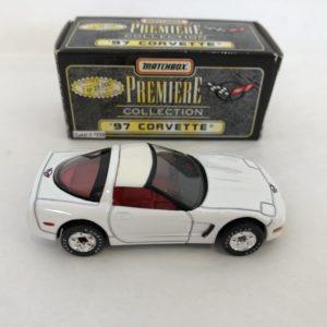 Matchbox Premiere Collection Diecast Model 97 Corvette