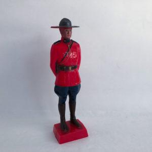 Reliable Toy Co 1950 Plastic RCMP Mountie Figurine