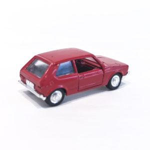 Vintage Miniaturas REI Brazil 1/66 scale diecast model VW Golf LS