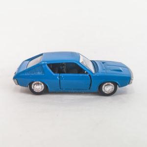 Vintage Schuco Modell Diecast Renault R17 TS. Blue, 1:66 scale, model 301-861