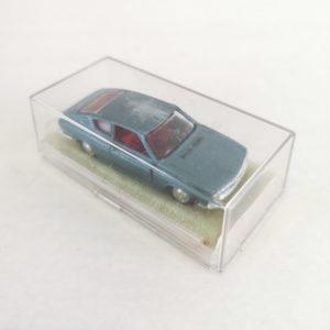 Vintage Miniaturas REI Diecast Audi 100 Coupé. Metallic blue, 1:66 scale, model 1821