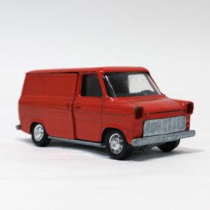 Schuco Modell Ford Transit Kastenwagen red diecast van