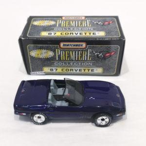 Matchbox Premiere Collection Diecast Model 87 Corvette Roadster